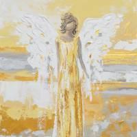 """""""""""Your Guiding Light"""" Angel Painting"""" by ChristineBell"""