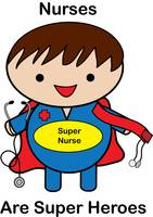 Male Nurse Super Hero Kawaii