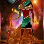 Ancient Secrets THOTH 3D Scifi Egyptian Prints & Posters