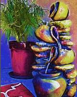 The Palm And The Fountain by Kirt Tisdale