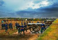 Civil War - Heavy artillery unit 1861