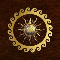 Signs of power and protection, amulets, sun