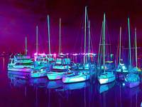 Marina in the Night PAINT