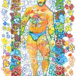Dancing Flower Bear by RD Riccoboni