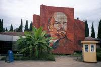 Monument to Lenin in Sochi