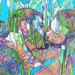 Wild Iris Garden - Flower Bears by RD Riccoboni