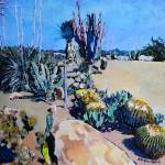 Cactus Garden in San Diego California by RD Riccoboni