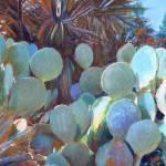 Cactus Pear Garden  by RD Riccoboni