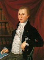 Attributed to Charles Peale Polk~Portrait of Adam