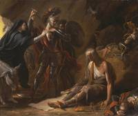 Benjamin West~The Cave of Despair