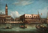 Canaletto~Palazzo Ducale