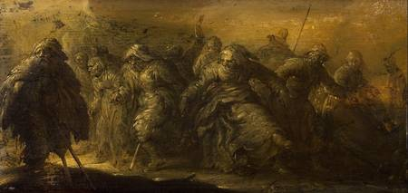 Adriaen van de Venne~Dancing Beggars;All Om Arm