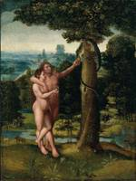 Adriaen Isenbrandt~Adam and Eve