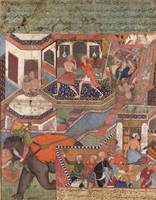 Akbar~Folio from the Hamzanama (Volume 1–5)Umar fo