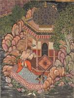 Akbar~Folio from the Hamzanama (Volume 7) Sherafga