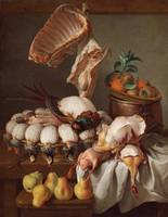 Alexandre-François Desportes~Still Life with Dress