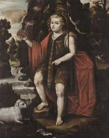 Alfonso Heredia~Saint John the Baptist as a child.