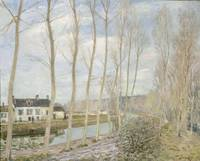 Alfred Sisley~The Loing's Canal