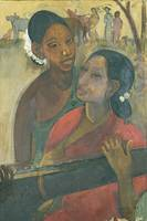 Amrita Sher-Gil~The Vina Player