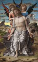 Andrea Mantegna~Christ as the Suffering Redeemer