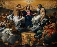 Annibale Carracci~The Coronation of the Virgin