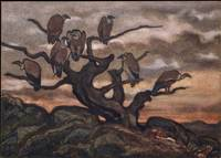 Antoine-Louis Barye~Vultures on a Tree