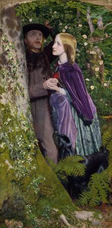 Arthur Hughes~The Long Engagement