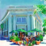 """""""Sidewalk Cafe on Coronado Island By Riccoboni"""" by RDRiccoboni"""