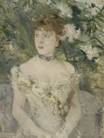 Berthe Morisot~Young Girl in a Ball Gown