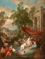 c. 1730–1733~Female Bathers near a Fountain (Nymph