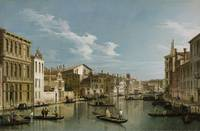 Canaletto~Grand Canal from Palazzo Flangini to Pal