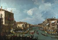 Canaletto~Regatta on the Grand Canal