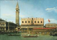 Canaletto~The Bucintoro at the Molo on Ascension D