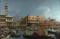 Canaletto~The Bucintoro Returning to the Molo