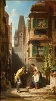 Carl Spitzweg~The Everlasting Bridegroom