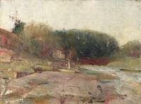 Charles Conder~On the River Yarra, near Heidelberg