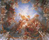 Charles Le Brun~Ascension of Francois Lemuwana to