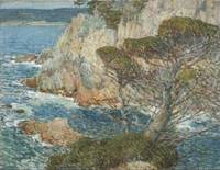 Childe Hassam~Point Lobos, Carmel