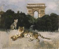 Christopher Wood~Tiger and Arc de Triomphe