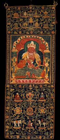 15th century~God of Fire, Agni, of the Medicine Bu