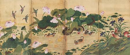 19th century-Early 20th century~Painting of Lotus