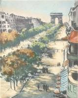 20th century~Untitled (Champs Elysees)