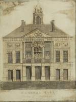 Amos Doolittle~Engraving of Front Elevation of Fed