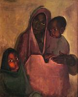 Amrita Sher-Gil~Mother India