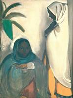 Amrita Sher-Gil~Two Women