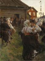 Anders Zorn~Midsummer Dance