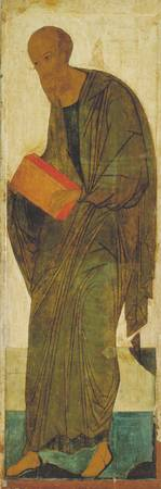 Andrei Rublev~St Paul. From Deisus Tier