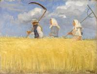 Anna Ancher~Harvesters