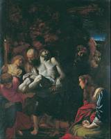 Annibale Carracci~The Burial of Christ