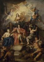 Antoine Coypel~Allegory on the glory of Louis XIV,